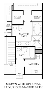 Master Bath Floor Plans by The Summit At Bethel The Bransford Home Design