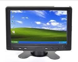 le de bureau tactile 7 bureau appui tête moniteur vga avec écran tactile pour pc de