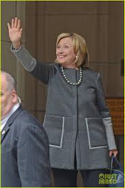 Hillary Clinton Hometown by Bill U0026 Hillary Clinton Visit Chelsea U0026 Baby Charlotte At Hospital