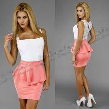 women u0027s clothing nightwear dresses peplum dress pink with