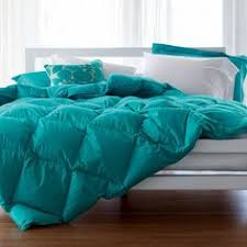 Light Down Comforter 174 Baffled Square Down Comforter The Company Store Grey Teal