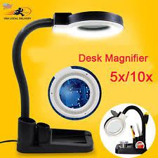 10x magnifying glass with led light 40 led desk l table light 5x 10x magnifying lens magnifier craft