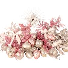 pink and silver tree decorations rainforest islands ferry