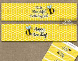 bumblebee decorations bumble bee party etsy