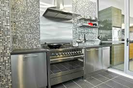 Kitchen Cabinets Stainless Steel Mesmerizing Outdoor Weatherproof Kitchen Cabinets With Stainless