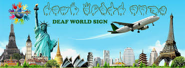 how to travel the world images Deaf tour guides deaf world sign jpg