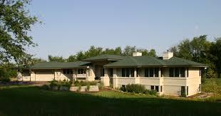 Prairie Home Style Prairie Style Rambler Habitat Architecture Inc