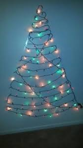 Christmas Decorations Wall Tree by Lights Only Wall Tree Project First Christmas Tree Using Command