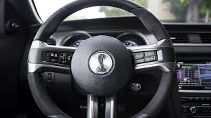 mustang cobra steering wheel 2014 ford mustang shelby gt500 review autoevolution