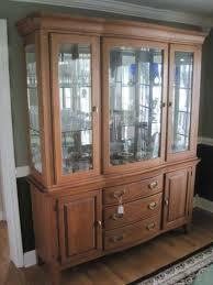 keller furniture lighted oak c auctions online proxibid