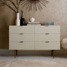Bedroom Sideboard Furniture by Audrey 6 Drawer Dresser West Elm