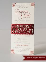 wedding invitations cape town tania donovan lasercut wedding invitations pearl ivory