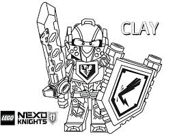 Lego Character Coloring Pages Knights Clay Coloring Page Lego Lego Coloring Pages