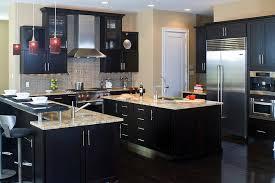 Dark Kitchen Cabinets Light Countertops Dark Kitchen Cabinets With Light Countertops U2014 Home Design Blog