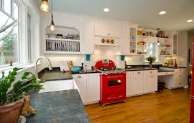 the terrible horrible no good holiday kitchen merrick design white kitchen with red appliances