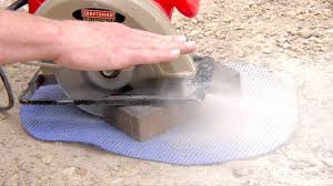 How To Cut Patio Pavers How To Cut Bricks With A Circular Saw Skil Saw Cut Pavers
