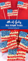 4th of july rice krispie treats two sisters crafting