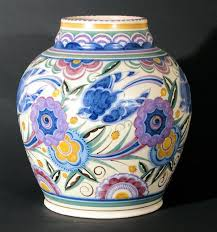 Poole Pottery Vase Patterns Traditional