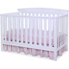 delta childrens products gateway 4in1 fixed side convertible crib