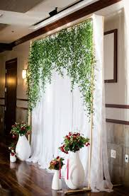 wedding backdrop best 25 diy wedding backdrop ideas on wedding