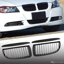 bmw black grill discount for bmw 3 series e90 e91 saloon touring 4d black sports