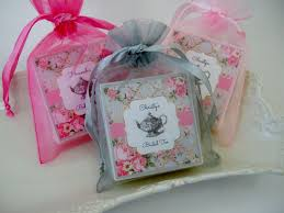 bridal tea party favors tea party bridal shower favors baby shower favors set of