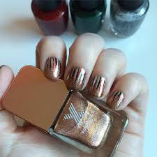nail ornament waterfall with sephora formula x and opi
