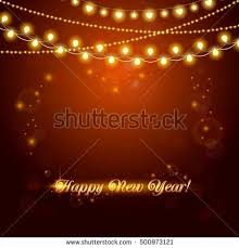 abstract background light garland vector stock vector
