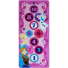 disney frozen hopscotch game rug multi color 4 u00274