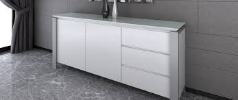 tribeca extra large sideboard white high gloss