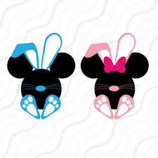 easter mickey mouse disney easter svg mickey easter bunny svg easter svg cut