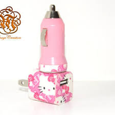 Hello Kitty Wall Mirror Best Hello Kitty Iphone Charger Products On Wanelo