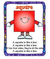 Box Songs A Square Is Like A Box A Square Is Like A Box It Has Four Sides