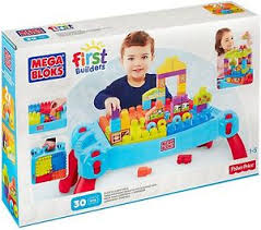 my first mega bloks table new build n learn table building set mega bloks track blocks