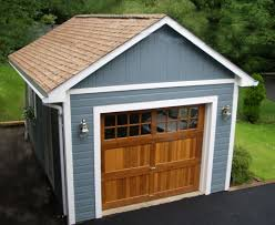 Single Car Garage by Glorious Garages Custom Garage Designs Summerstyle