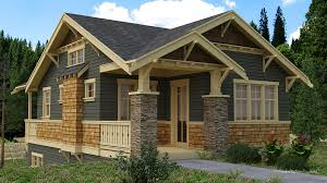 custom home designers rendering for a craftsman style custom home cottage ideas