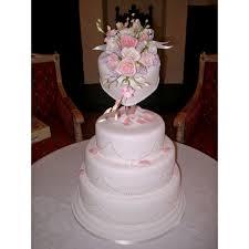 Heart Wedding Cake Diamante Heart Wedding Cake Tilting Heart Shaped Cake On Top Of A