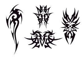 tribal winged heart and blue star tattoo designs in 2017 real