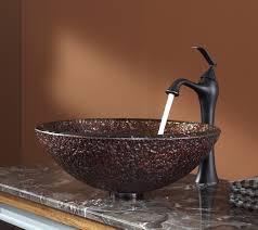 Oil Rubbed Bronze Vessel Sink Faucet Oil Rubbed Bronze Vessel Sink Bathroom Gl Vessel Sink And Faucet