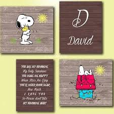 baby snoopy wall art 2 wall decal
