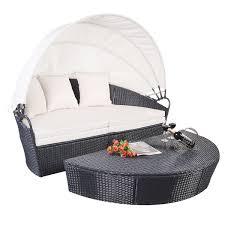 gym equipment outdoor patio wicker rattan furniture round sofa