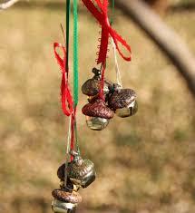 acorn jingle bell ornaments makes jingle bell crafts