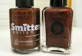 lacquer slacker liz quick comparison smitten polish seasonal