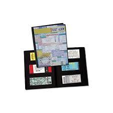 ticket stub album concert ticket album