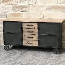 meuble cuisine industriel meuble cuisine industriel bahut console commode salon rangement 17