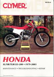 honda xl xr tlr 125 185 200 1979 2003 service repair manual m318