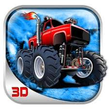 hawksgames monster truck snowfall driving icon google play store