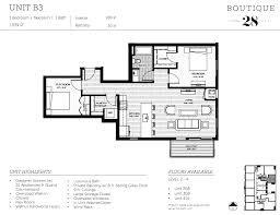 two bed floor plans boutique 28
