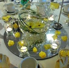 fish bowl centerpieces glass bowl centerpiece glass bowl wedding centerpieces
