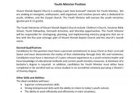 youth pastor resumes free examples of pastoral resumes how to write a pastor resume